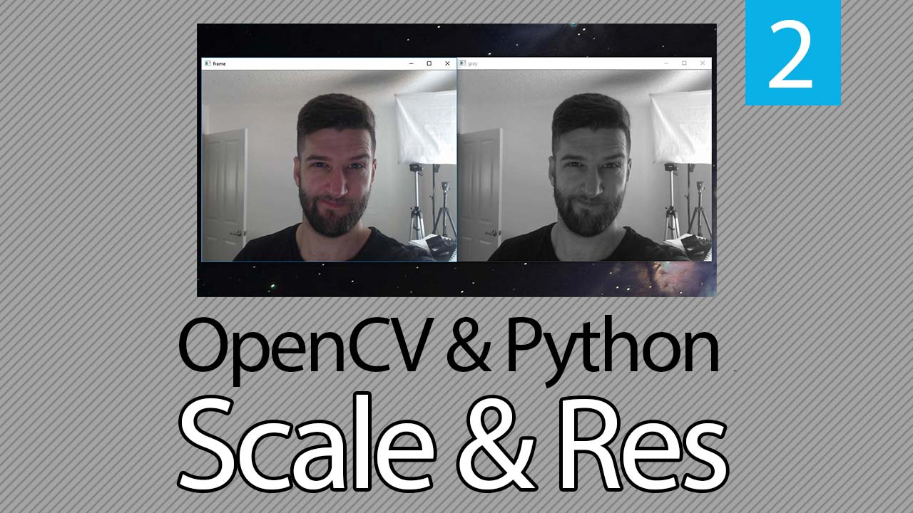 OpenCV & Python: How to Change Resolution or Rescale Frame | Coding ...