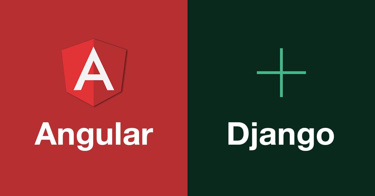 Angular + Django Logo